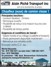 Logo de CHAUFFEUR(EUSE) CAMION CLASSE 1