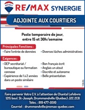 ADJOINTE AUX COURTIERS