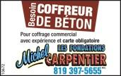 COFFREUR DE BÉTON
