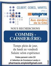 COMMIS-CAISSIER(ÈRE)