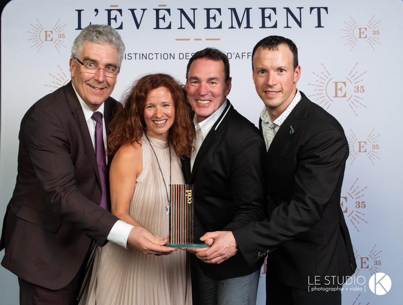 E35: Kefiplant décroche le titre d'entreprise de l'année