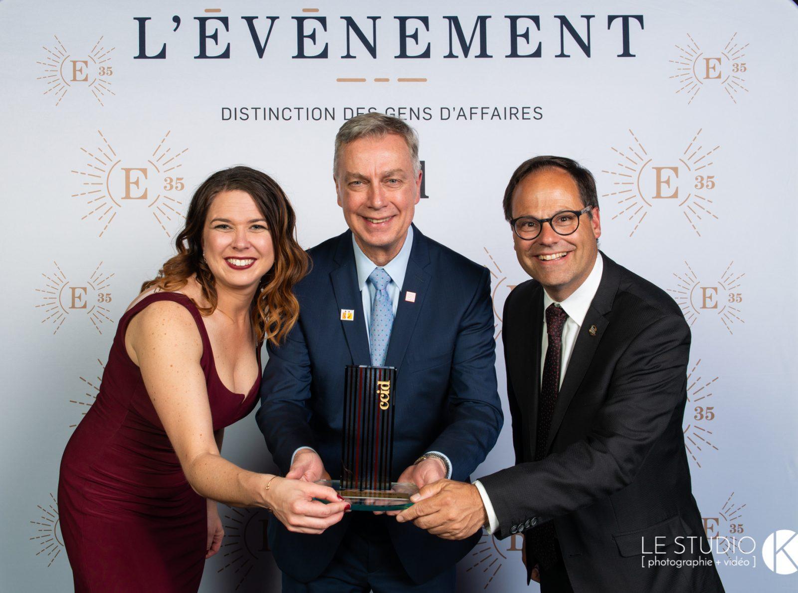 Jean-Jacques Ruest décroche le titre d'ambassadeur de Drummondville