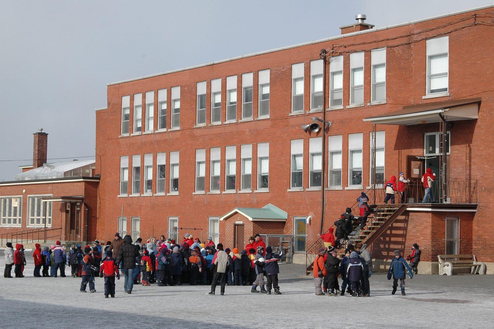 CSDC: seulement cinq écoles ont une récréation en après-midi