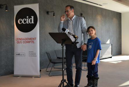 Richard Voyer se réconcilie avec la CCID