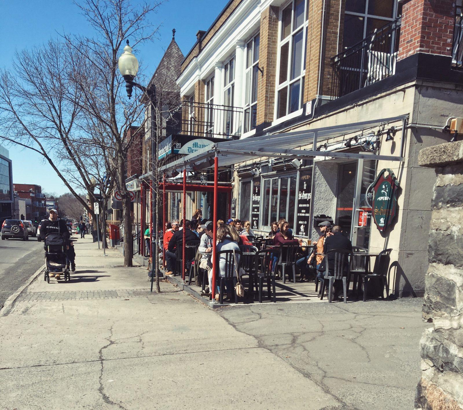 L'ouverture des terrasses: un souffle de vie pour le centre-ville