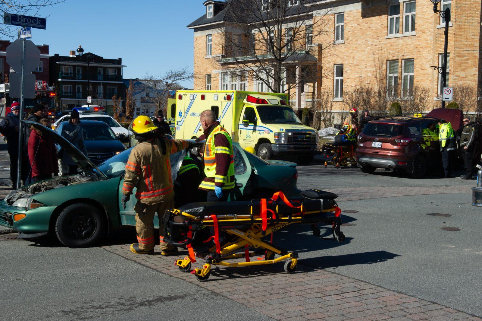 Deux blessés au centre-ville