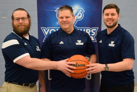 Un nouvel entraîneur pour l'équipe de basketball des Voltigeurs