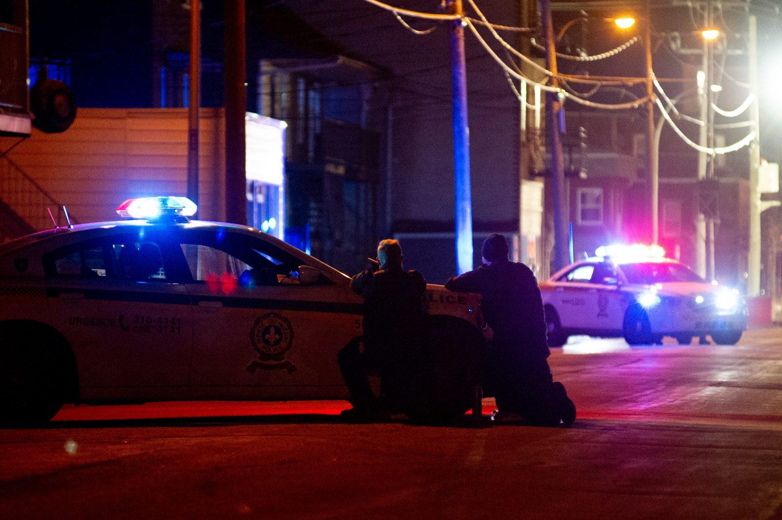 Vaste opération policière sur la rue Demers