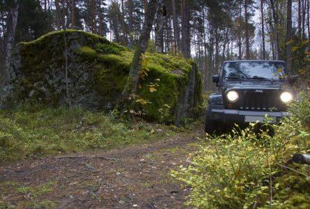 Rouler en Jeep pour une bonne cause