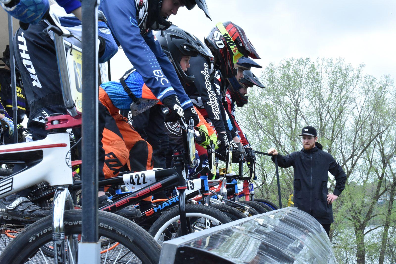 Beaucoup d'action ce week-end à la piste de BMX
