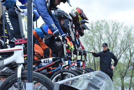 Beaucoup d'action ce week-end à la piste de BMX
