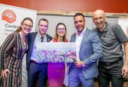 La campagne de Centraide Centre-du-Québec a permis d'amasser plus de 1,5 million $