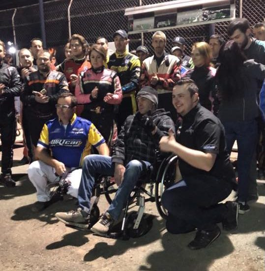 Un hommage rendu à Dany Bilodeau à l'Autodrome