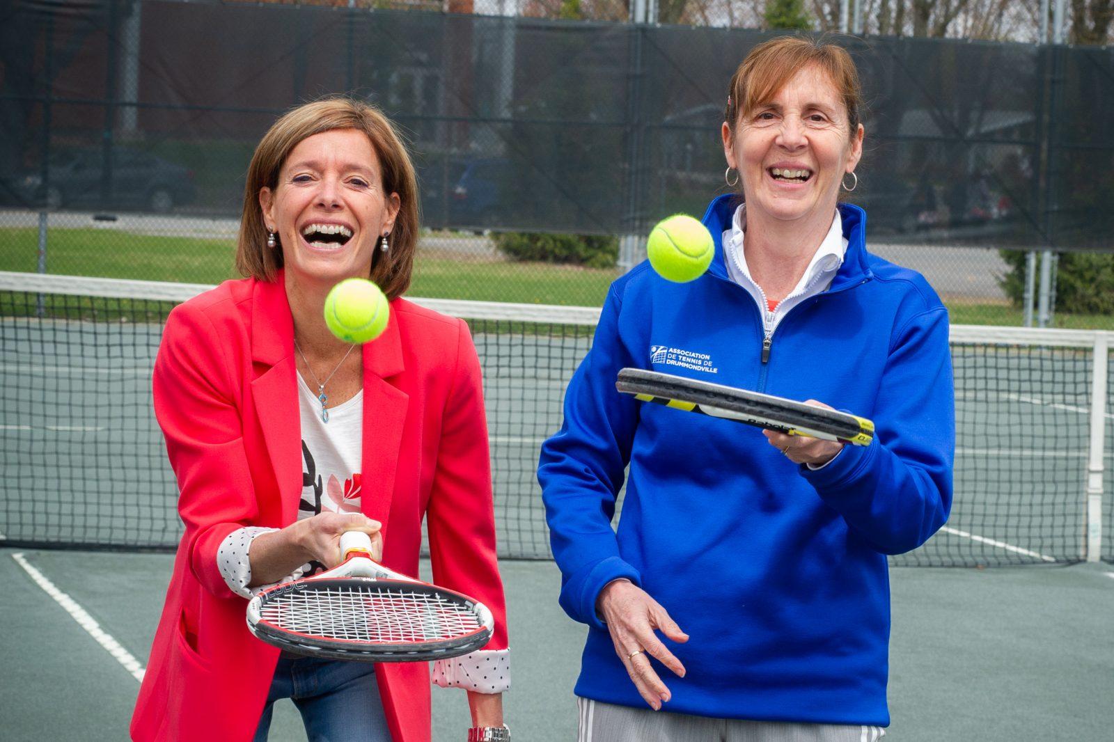 «Le tennis, c'est pour tout le monde» – Anne Veillette