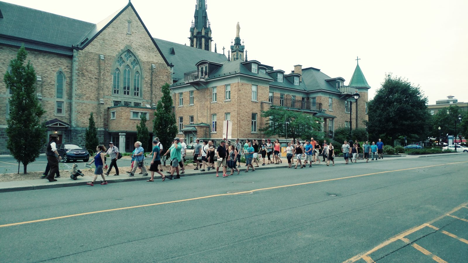 Reprise des visites guidées et historiques au centre-ville