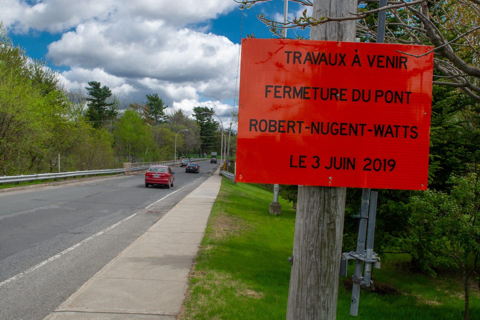 Le pont Robert-Nugent-Watts sera détruit et reconstruit