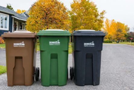 Gestion des matières résiduelles : Drummondville dresse un bilan «élogieux»