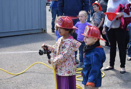 Incursion dans la caserne d'incendie de Drummondville
