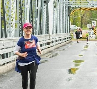 «Courir, c'est mon petit bonheur» – France Parent