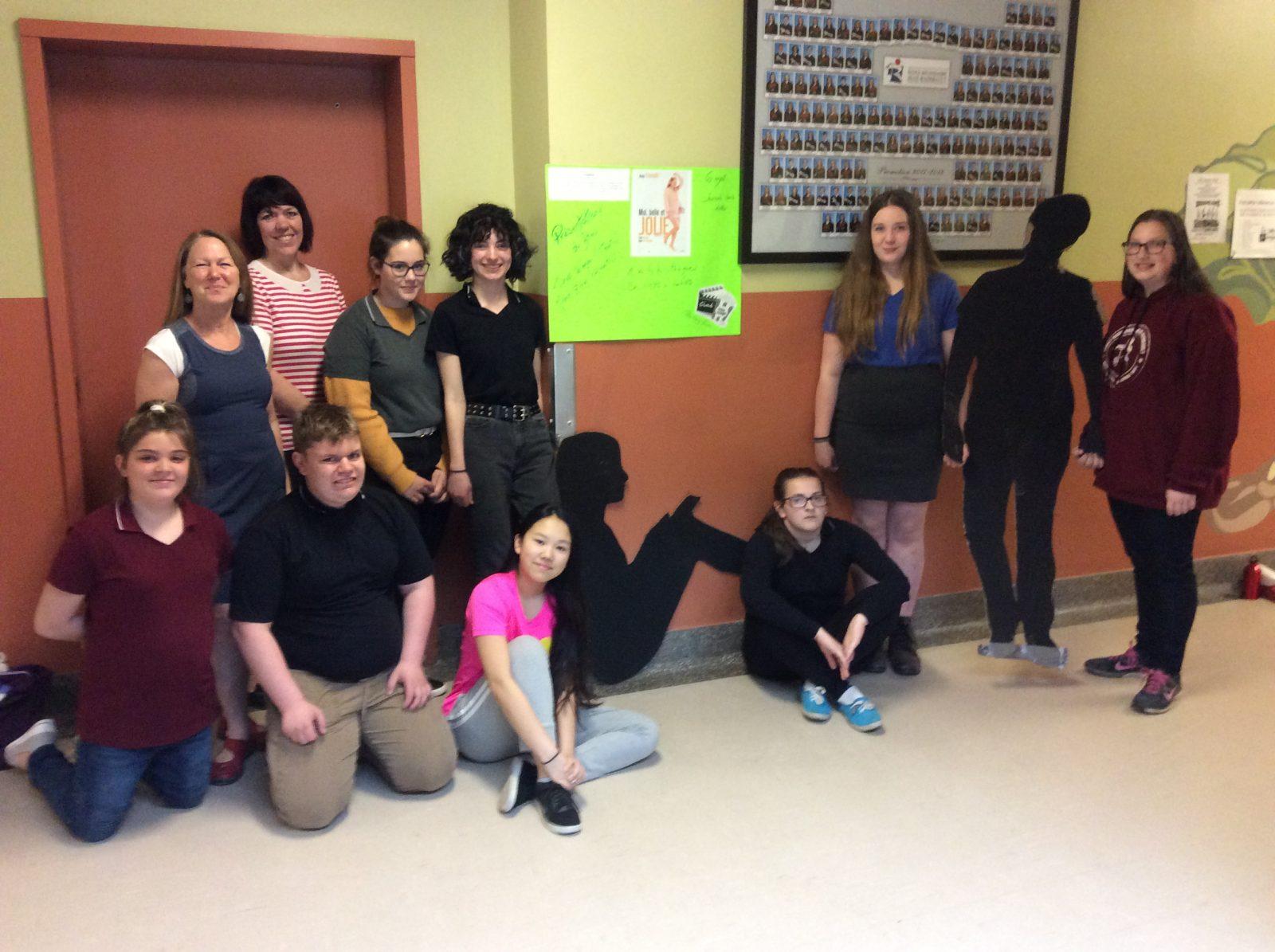 Une activité pour la Journée sans diète à l'école Jean-Raimbault