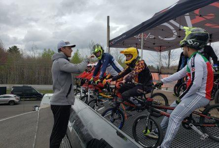 BMX: un médaillé olympique à Drummondville