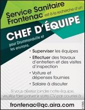 CHEF D'ÉQUIPE
