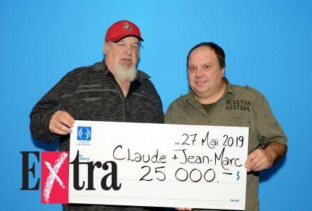 La chance sourit à trois personnes du Centre-du-Québec