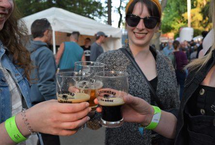 Drummond en bière : le soleil et le plaisir sont au rendez-vous