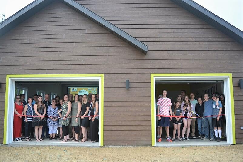 Un garage multifonctionnel pour les jeunes de Wickham