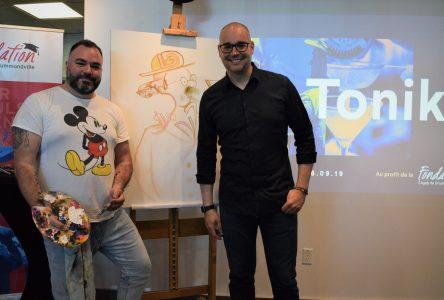Art Tonik: un événement où l'art urbain rencontre le monde des affaires