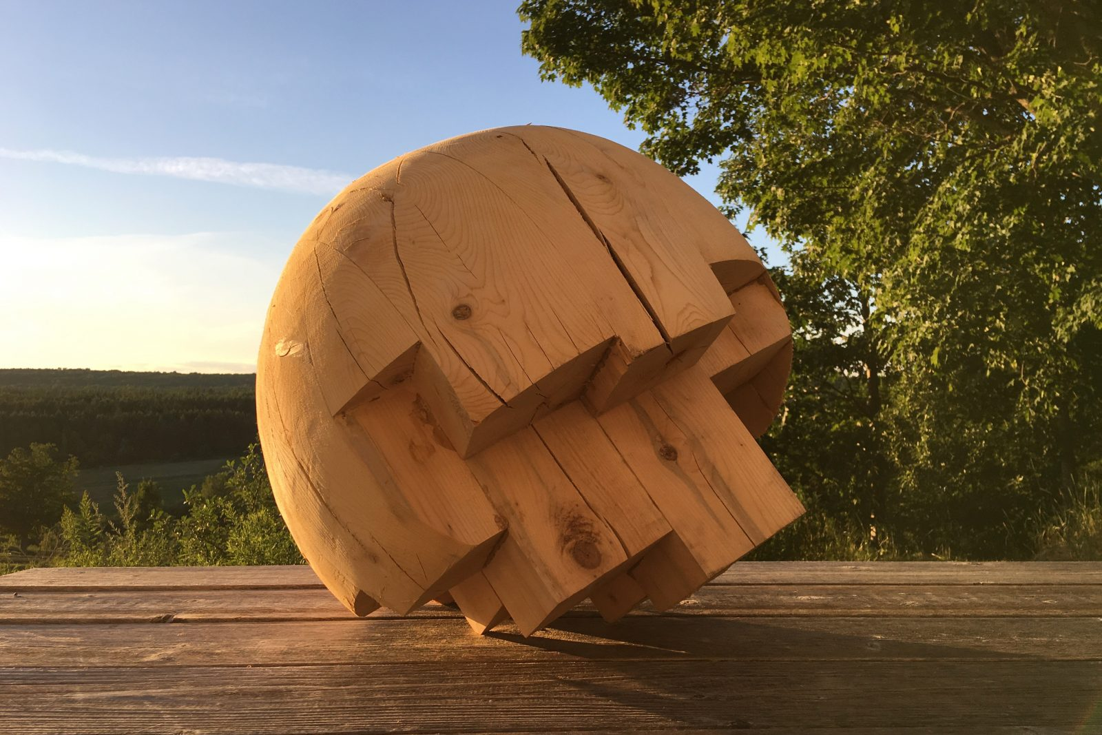 Les œuvres d'art public de François Mathieu mises en évidence