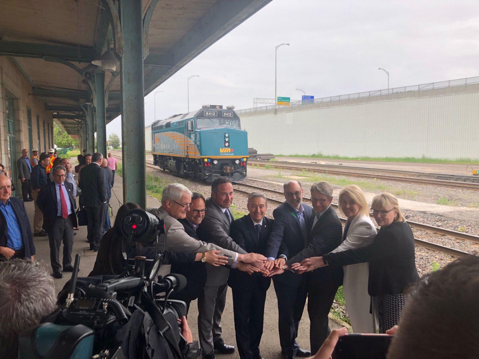 Le projet de TGF de VIA Rail reçoit un nouvel appui