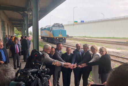 Via Rail : Cusson satisfait de l'annonce fédérale