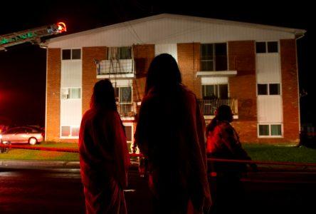 Incendie sur la rue Cardin (mise à jour)