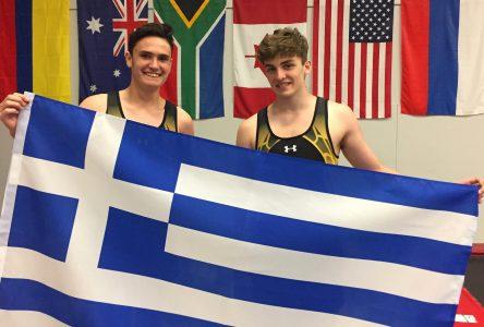 Deux jeunes tumbleurs s'entraîneront en Grèce