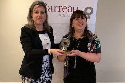 Me Isabelle Bonin reçoit le Mérite du Barreau d'Arthabaska 2019