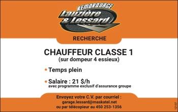 Logo de Chauffeur Classe 1