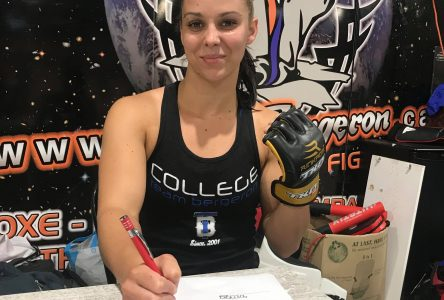 Direction TKO pour Claudia Baril