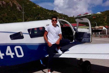 Le rêve de Mathias Quessada : piloter un avion
