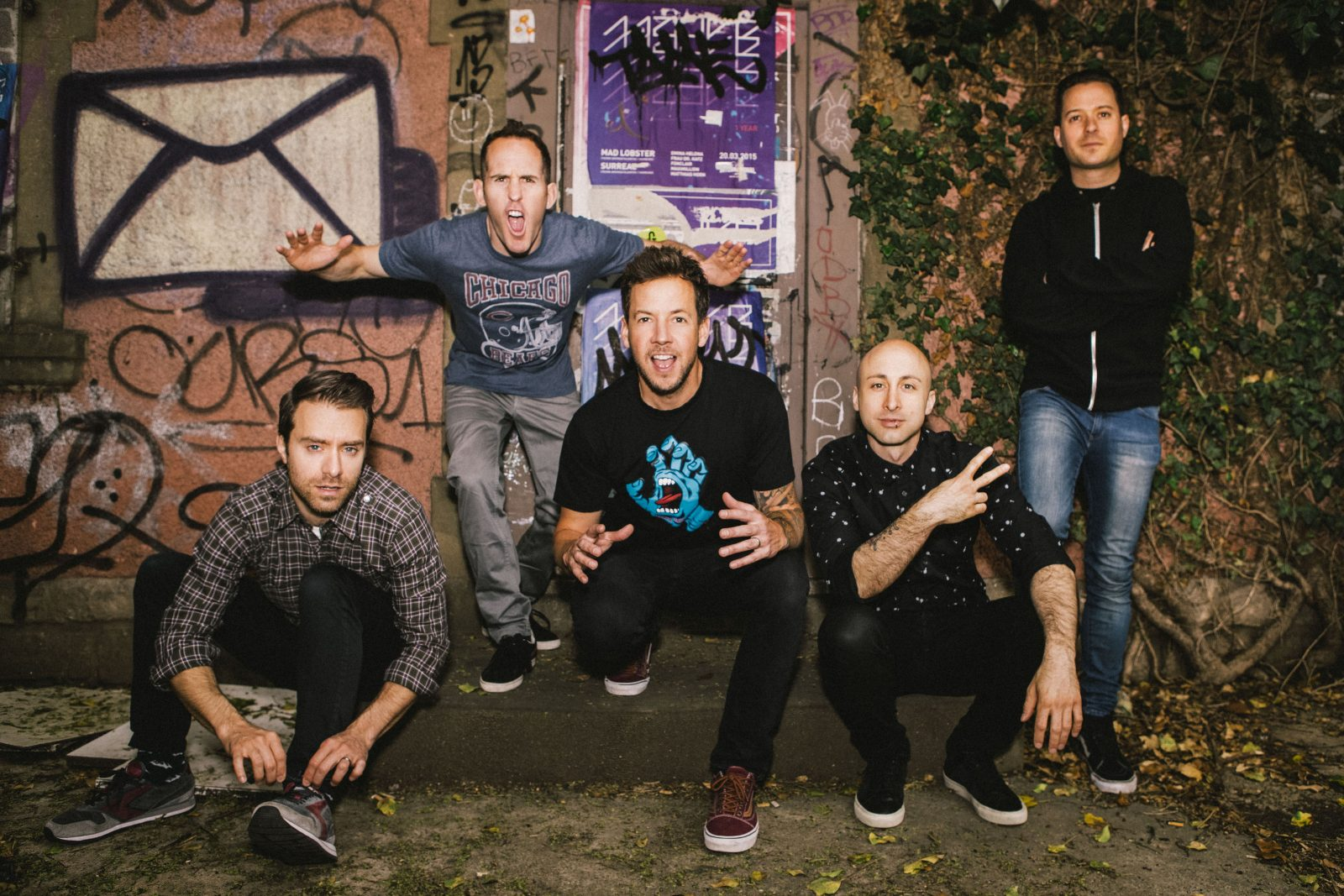 Simple Plan a envie de célébrer au Festival de la poutine