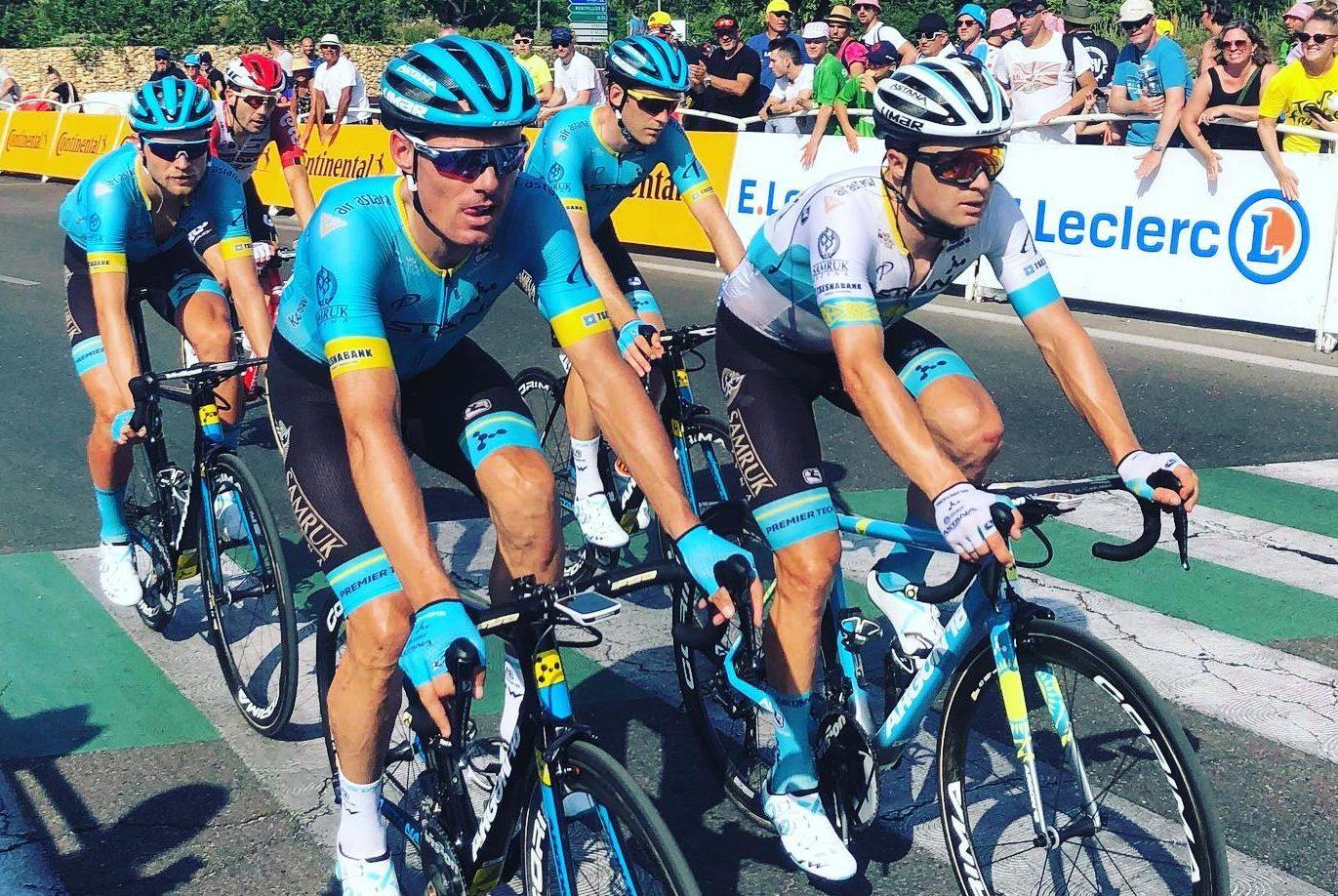 Hugo Houle savoure un historique top 10 au Tour de France
