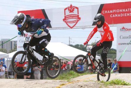 Gaby Malenfant représentera le Canada aux Championnats du monde BMX
