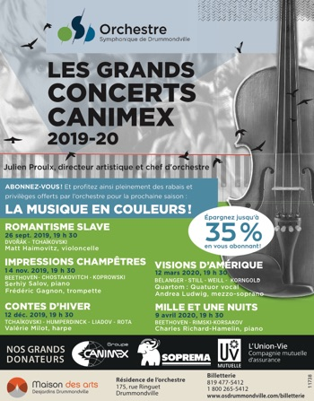 Les grands concerts Canimex