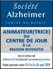 Logo de ANIMATEUR(TRICE) DU CENTRE DE JOUR