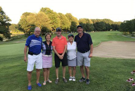 Les champions couronnés au club de golf de Drummondville