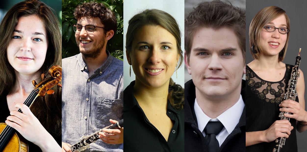 Cinq nouveaux musiciens à l'OSD