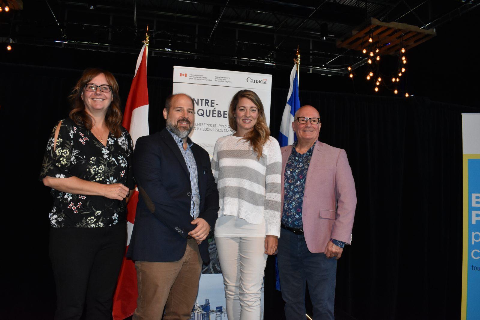 Des investissements d'Ottawa pour le tourisme au Centre-du-Québec