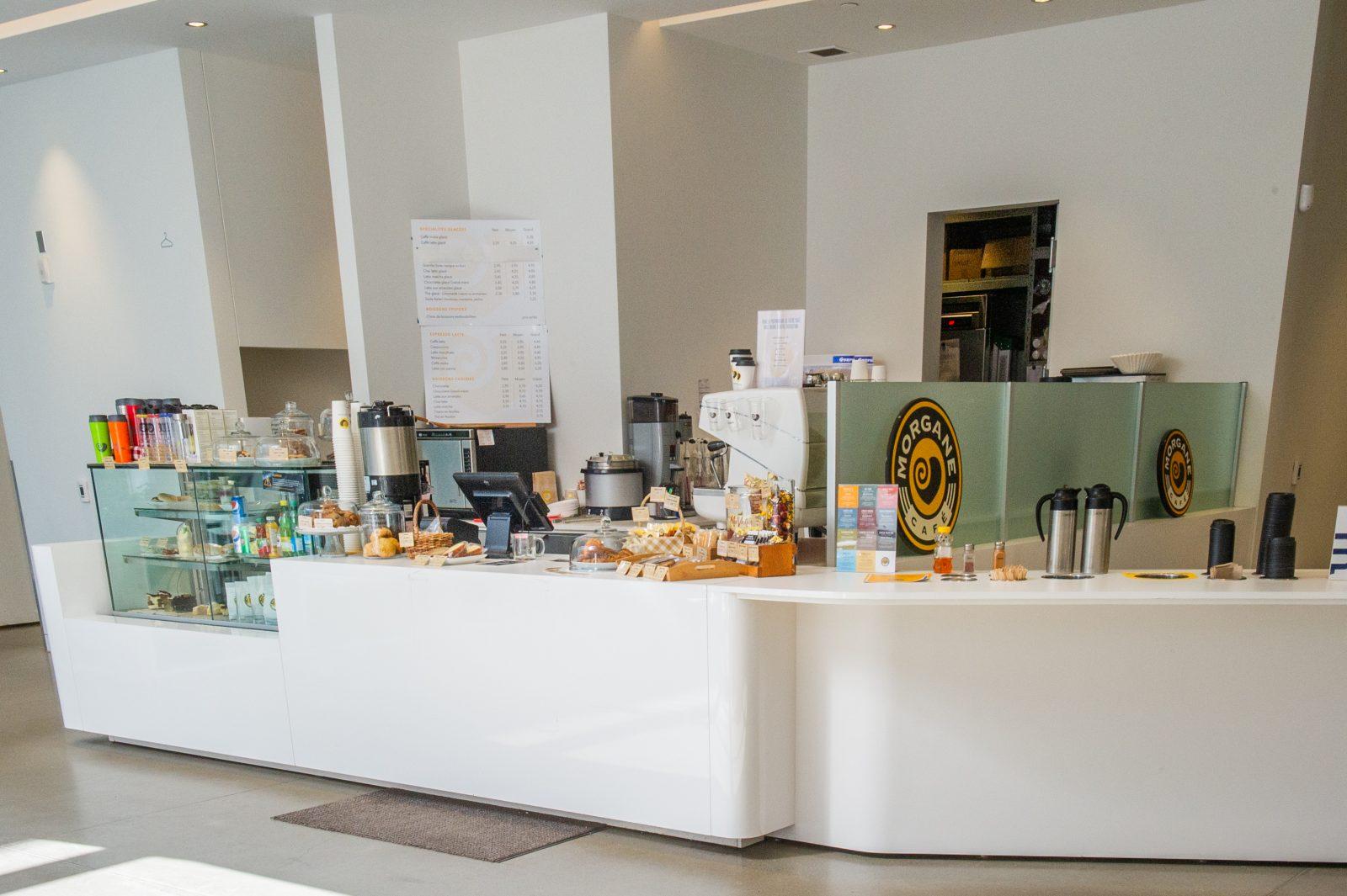 La Maison d'Herbes prendra la place de Café Morgane à la bibliothèque publique
