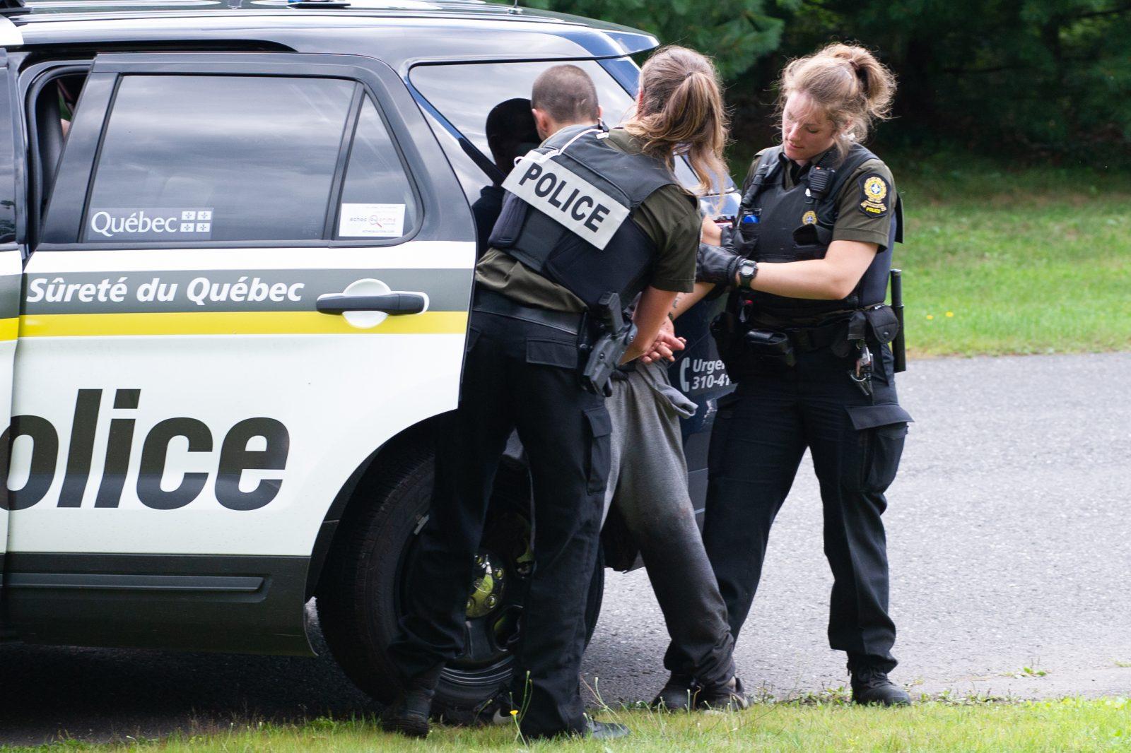 Un présumé voleur épinglé par les policiers (mise à jour)