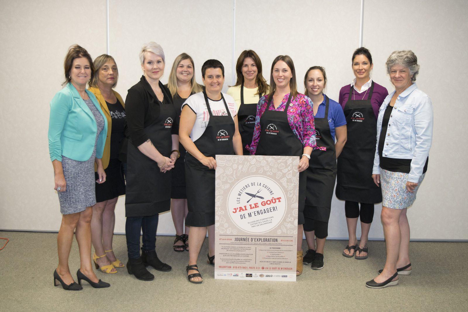 Huit entreprises s'unissent pour trouver de la main-d'œuvre en cuisine